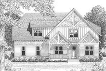 Home Plan - Tudor Exterior - Other Elevation Plan #413-139