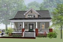 Dream House Plan - Craftsman Exterior - Front Elevation Plan #79-222