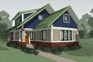 Craftsman Exterior - Other Elevation Plan #454-13