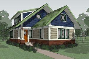 Craftsman Exterior - Other Elevation Plan #454-13