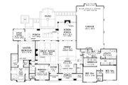 European Style House Plan - 4 Beds 3 Baths 2910 Sq/Ft Plan #929-1023 Floor Plan - Other Floor Plan