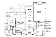 European Style House Plan - 4 Beds 3 Baths 2910 Sq/Ft Plan #929-1023 Floor Plan - Other Floor Plan