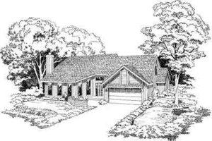 Modern Exterior - Front Elevation Plan #312-253