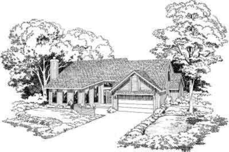 Modern Style House Plan - 3 Beds 2.5 Baths 1899 Sq/Ft Plan #312-253