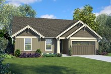 Architectural House Design - Craftsman Exterior - Front Elevation Plan #48-998