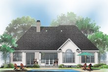 Architectural House Design - Ranch Exterior - Rear Elevation Plan #929-666
