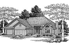 House Design - Traditional Exterior - Front Elevation Plan #70-231