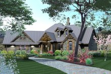 Craftsman Exterior - Other Elevation Plan #120-175