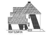 European Style House Plan - 3 Beds 2.5 Baths 2190 Sq/Ft Plan #138-252 Exterior - Other Elevation