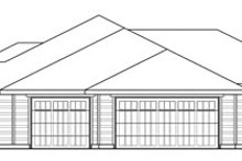 Dream House Plan - Ranch Exterior - Other Elevation Plan #124-824