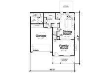 Traditional Floor Plan - Main Floor Plan Plan #20-2327