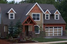 House Plan Design - Craftsman Exterior - Front Elevation Plan #48-107
