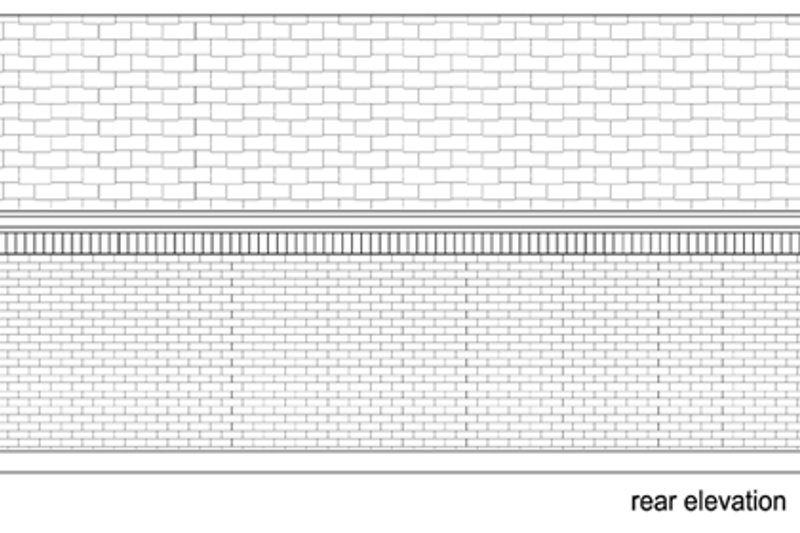 Cottage Exterior - Rear Elevation Plan #84-535 - Houseplans.com
