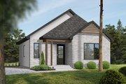 Modern Style House Plan - 2 Beds 1 Baths 864 Sq/Ft Plan #23-695