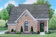 Traditional Style House Plan - 3 Beds 2 Baths 1311 Sq/Ft Plan #424-54 Exterior - Front Elevation