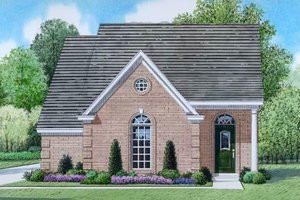 Traditional Exterior - Front Elevation Plan #424-54