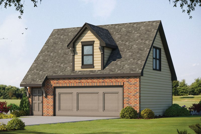 Traditional Exterior - Front Elevation Plan #20-2308