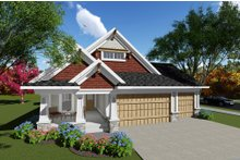 Home Plan - Craftsman Exterior - Front Elevation Plan #70-1260
