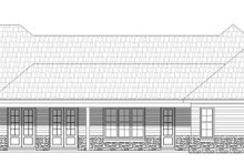 Dream House Plan - Country Exterior - Rear Elevation Plan #932-79