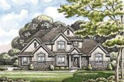 Traditional Style House Plan - 4 Beds 4 Baths 2999 Sq/Ft Plan #20-1824
