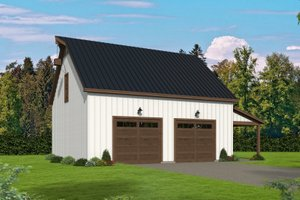 Traditional Exterior - Front Elevation Plan #932-429