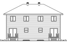 Modern Exterior - Rear Elevation Plan #23-2639