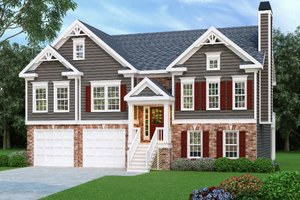 Architectural House Design - Traditional Exterior - Front Elevation Plan #419-103