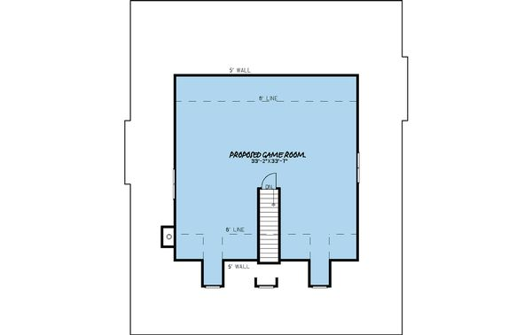 Farmhouse Floor Plan - Other Floor Plan #923-22