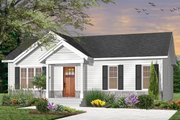 Craftsman Style House Plan - 3 Beds 1 Baths 1024 Sq/Ft Plan #23-2696 Exterior - Front Elevation