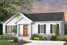House Plan Design - Craftsman Exterior - Front Elevation Plan #23-2696