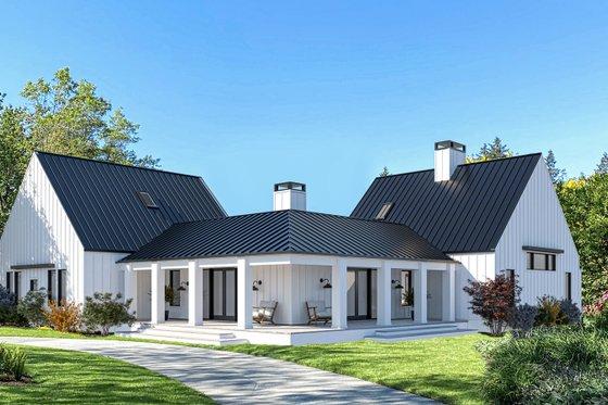 Farmhouse Exterior - Front Elevation Plan #1076-4