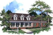 Country Style House Plan - 4 Beds 2.5 Baths 2360 Sq/Ft Plan #37-199 Exterior - Front Elevation