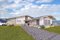 Contemporary Style House Plan - 4 Beds 2.5 Baths 2019 Sq/Ft Plan #489-6 Exterior - Front Elevation