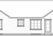 Dream House Plan - Ranch Exterior - Rear Elevation Plan #23-699