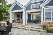 Farmhouse Exterior - Outdoor Living Plan #928-344