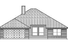 Traditional Exterior - Rear Elevation Plan #84-351