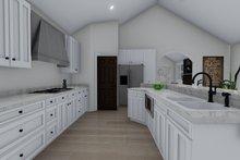 Architectural House Design - Traditional Interior - Kitchen Plan #1060-61