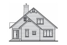 Exterior - Rear Elevation Plan #23-758