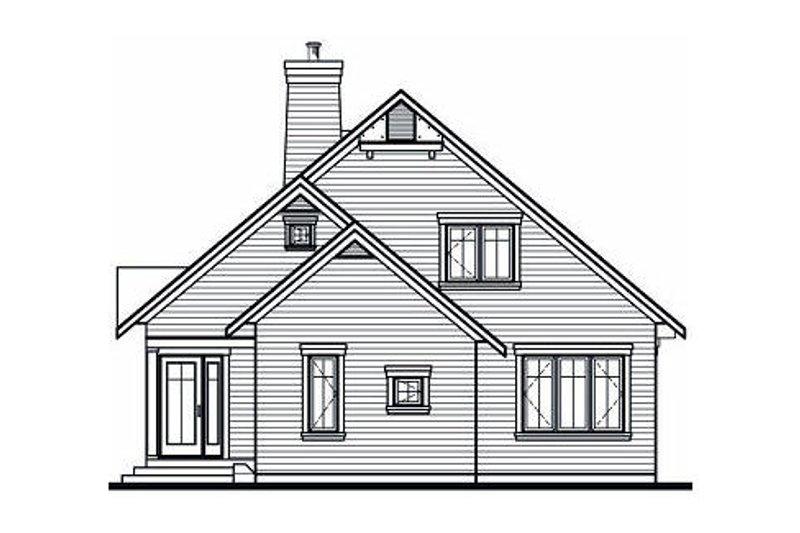 Exterior - Rear Elevation Plan #23-758 - Houseplans.com