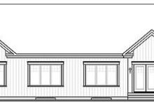 House Design - Craftsman Exterior - Rear Elevation Plan #23-649