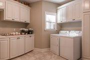 European Style House Plan - 3 Beds 2 Baths 2024 Sq/Ft Plan #430-168 Interior - Laundry