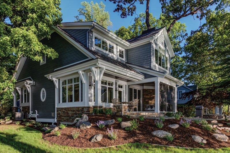 Bungalow Exterior - Other Elevation Plan #928-9 - Houseplans.com