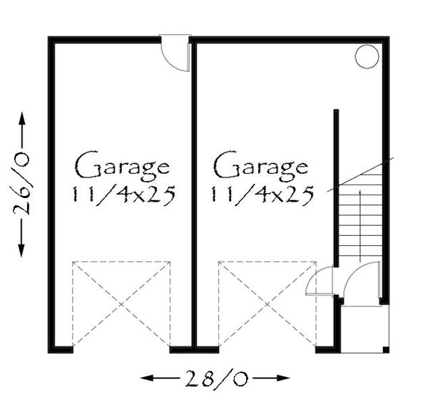 Country Floor Plan - Main Floor Plan Plan #509-39