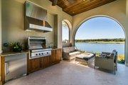 Mediterranean Style House Plan - 3 Beds 3 Baths 2779 Sq/Ft Plan #930-480 Exterior - Outdoor Living