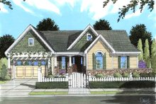 Dream House Plan - Traditional Exterior - Front Elevation Plan #46-481