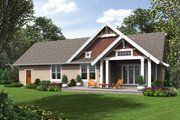 Cottage Style House Plan - 3 Beds 2.5 Baths 2256 Sq/Ft Plan #48-704 Exterior - Rear Elevation