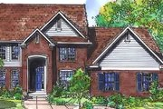 Colonial Style House Plan - 3 Beds 2.5 Baths 2507 Sq/Ft Plan #320-448