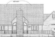 Traditional Exterior - Rear Elevation Plan #72-470