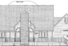 House Blueprint - Traditional Exterior - Rear Elevation Plan #72-470