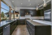 Modern Style House Plan - 4 Beds 4 Baths 3712 Sq/Ft Plan #892-17 Interior - Kitchen